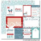 Journaling Cards/All Bundled Up 12x12""