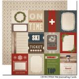 3x4 Journaling Cards/Warm&Cozy 12x12""