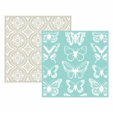 Embossing Folder - Butterfly - 2 ks