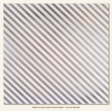 Stripe/Black & Gray Foiled Vellum Sheet 12x12""