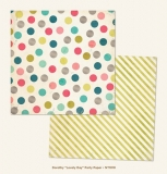 "Dorothy ""Lovely Day"" Party Paper/now&then 12x12"""