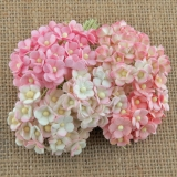 Mixed Pink Sweetheart Blossom Flowers 10mm - 10 ks