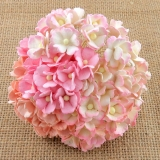 Mixed Pink Sweetheart Blossom Flowers 15mm - 10 ks