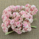 2-Tone Baby Pink/Ivory Gypsophila Flowers 10mm - 10 ks