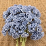 2-Tone Antique Blue Gypsophila Flowers 10mm - 10 ks