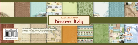 Discover Italy 12x12""