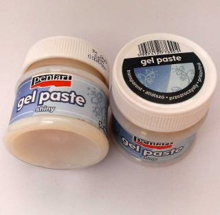 Gel paste 230ml - transparentní lesklá