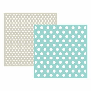 Embossing Folder - Polka Dot - 2 ks