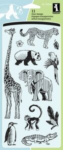 CLR Dat At The Zoo Clear Stamp