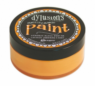 Dylusions Paint - Squeezed Orange