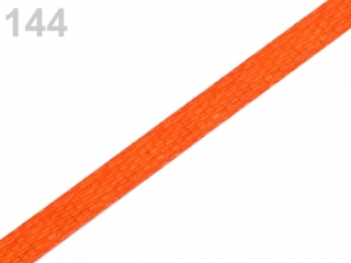 Stuha saténová š.3mm Vermillion Orange