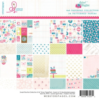 "Sweet Routine! 6x6"" - 12 ks"