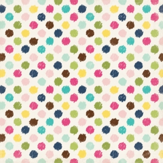 Darling Dots/Splendid Sunshine 12x12""