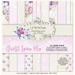 "Just Love Me 6x6""- sada 18 listů"