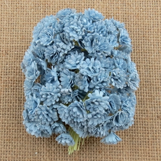 Baby Blue Gypsophila Flowers 10mm - 10 ks