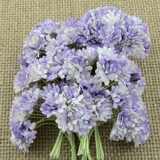 2-Tone Lilac Gypsophila Flowers 10mm - 10 ks