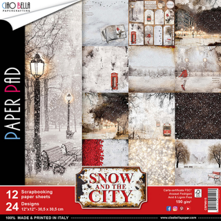"Snow in the City 12x12"" - sada 12 listů"