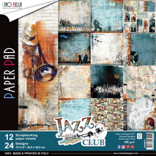 "Jazz Club 12x12"" - sada 12 listů"