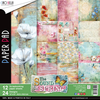 "Sound of Spring 12x12"" - sada 12 listů"