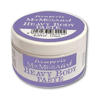 Heavy body paste 150ml - bílá