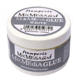 Mixed media glue 150 ml - transtparentní