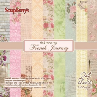 "French Journey 6x6"" - 12 ks"